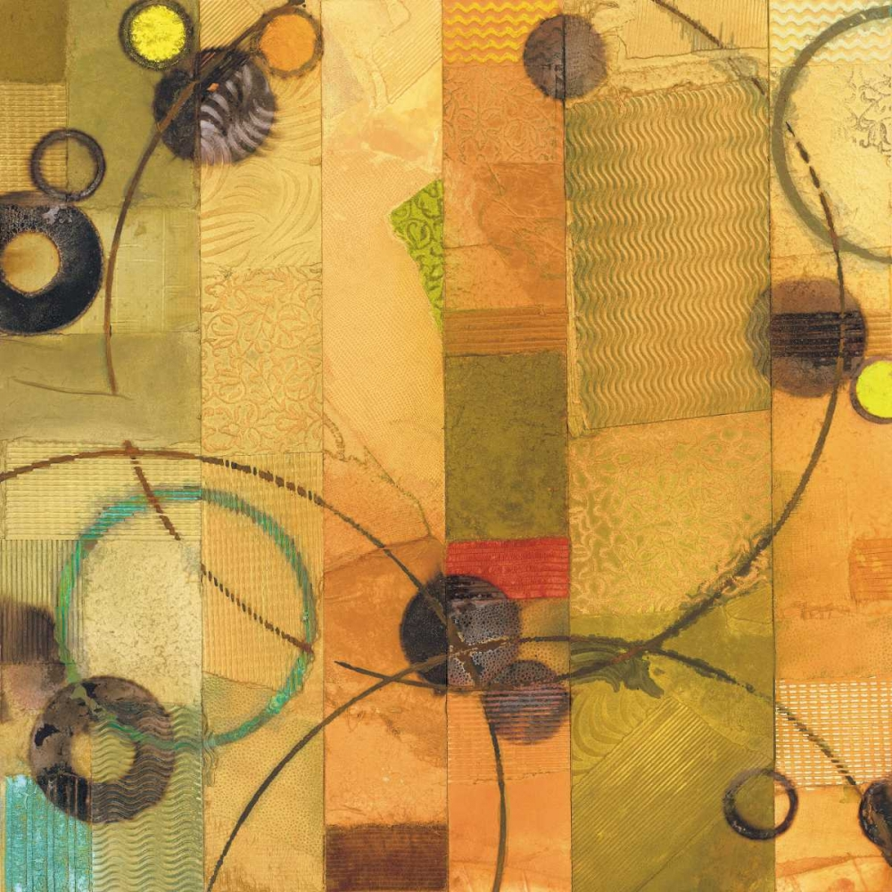 konfigurieren des Kunstdrucks in Wunschgröße Of This World No. 14 von Koury, Aleah