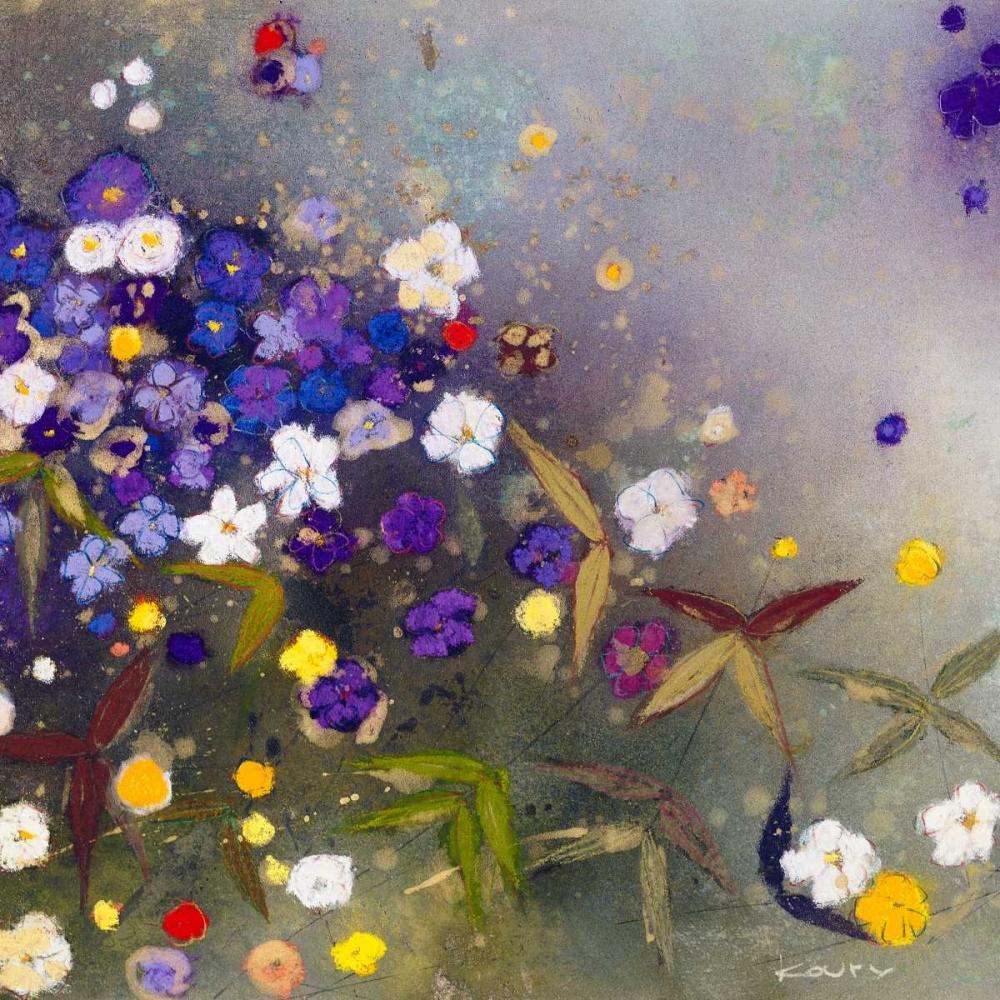 konfigurieren des Kunstdrucks in Wunschgröße Gardens in the Mist IX von Koury, Aleah