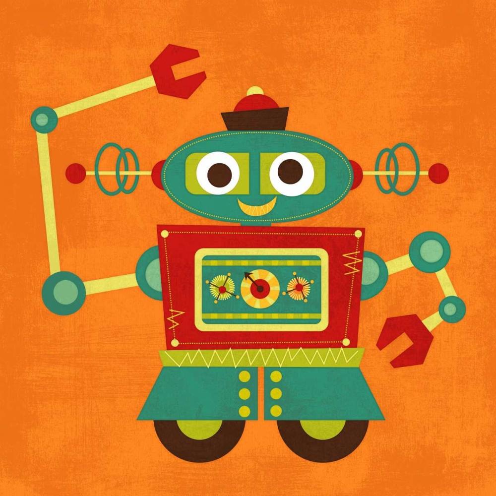 konfigurieren des Kunstdrucks in Wunschgröße Robot 2 von Lee, Nancy