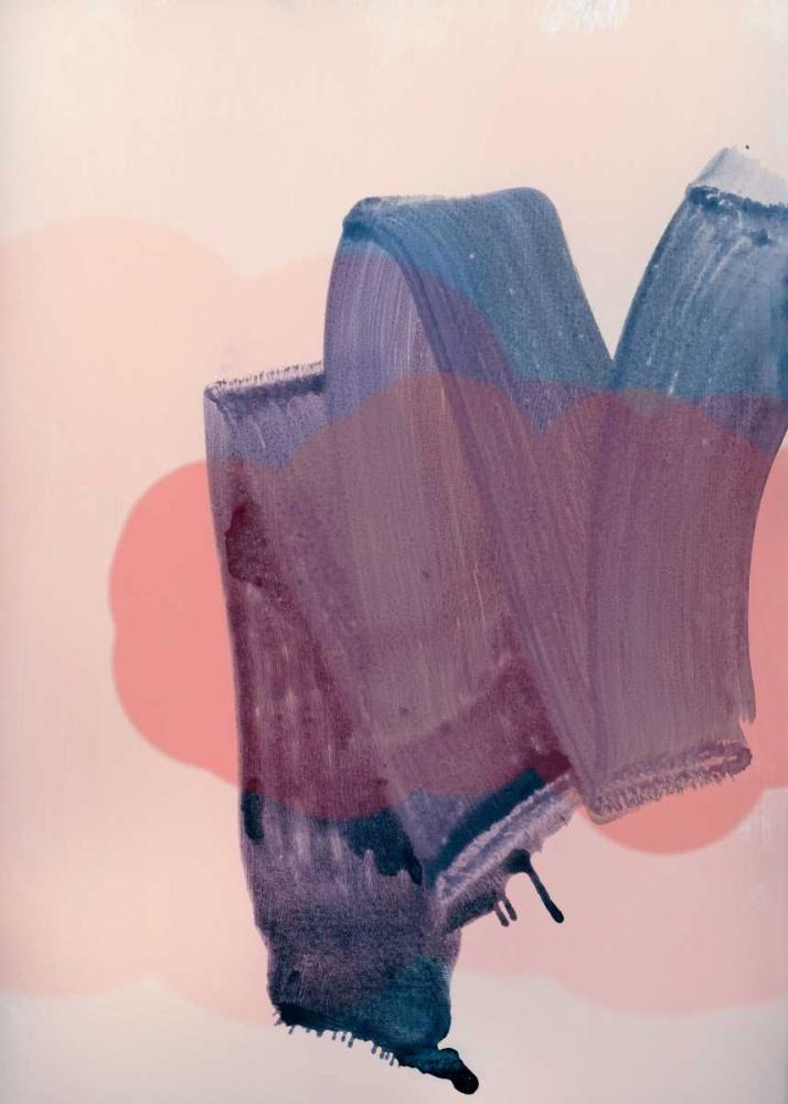konfigurieren des Kunstdrucks in Wunschgröße Brush Strokes 1 von Lehnhardt, Iris