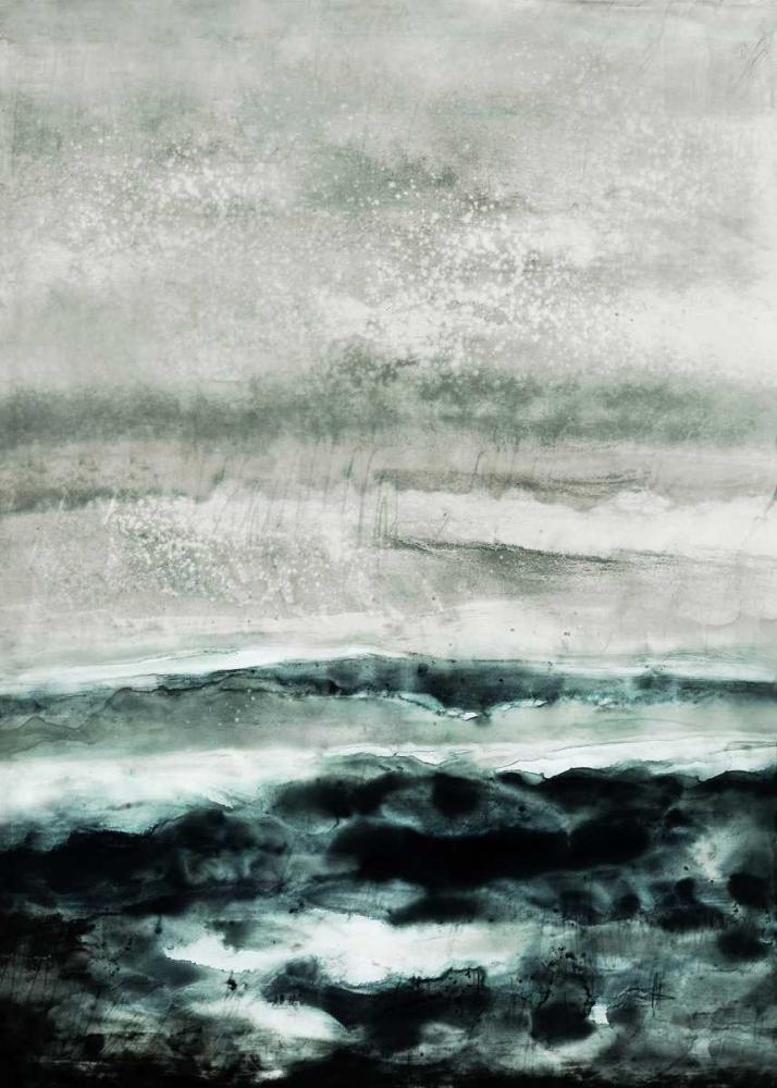 konfigurieren des Kunstdrucks in Wunschgröße Abstract Waterscape von Lehnhardt, Iris
