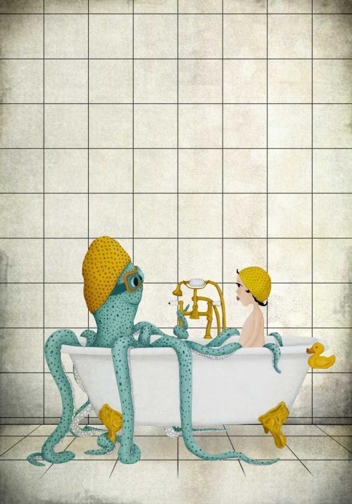 konfigurieren des Kunstdrucks in Wunschgröße Bath Time von Lindberg, Maja