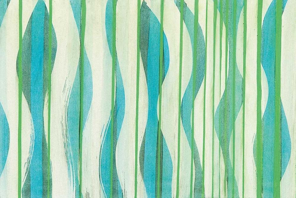 konfigurieren des Kunstdrucks in Wunschgröße Carousing with Lines I von Miller, Allison G