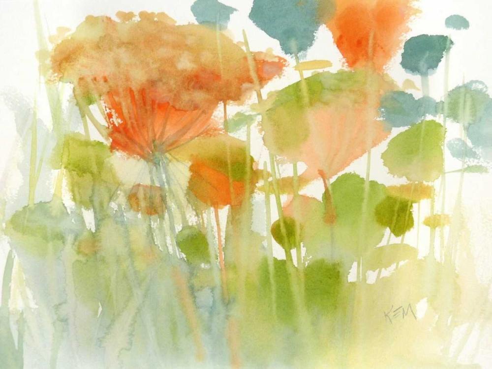 konfigurieren des Kunstdrucks in Wunschgröße Summer Profusion von Margulis, Karen