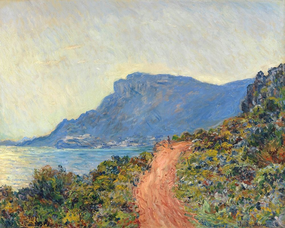 La Corniche near Monaco, 1884