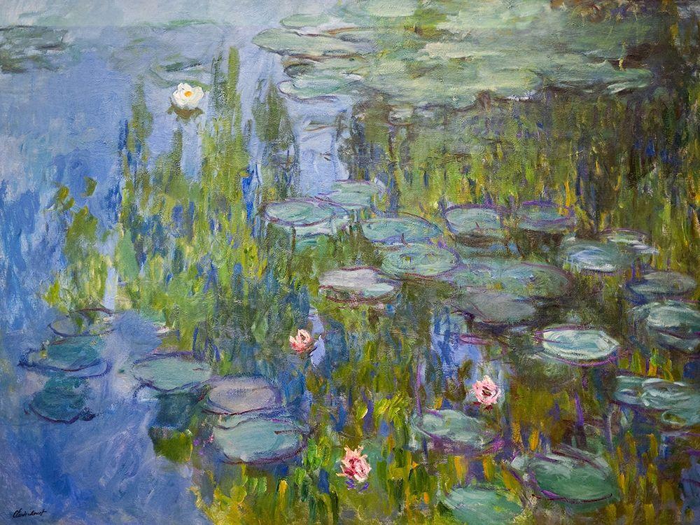 konfigurieren des Kunstdrucks in Wunschgröße Seerosen von Monet, Claude