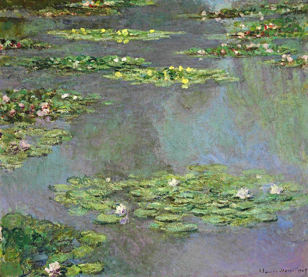konfigurieren des Kunstdrucks in Wunschgröße Nymphe as, 1905 von Monet, Claude