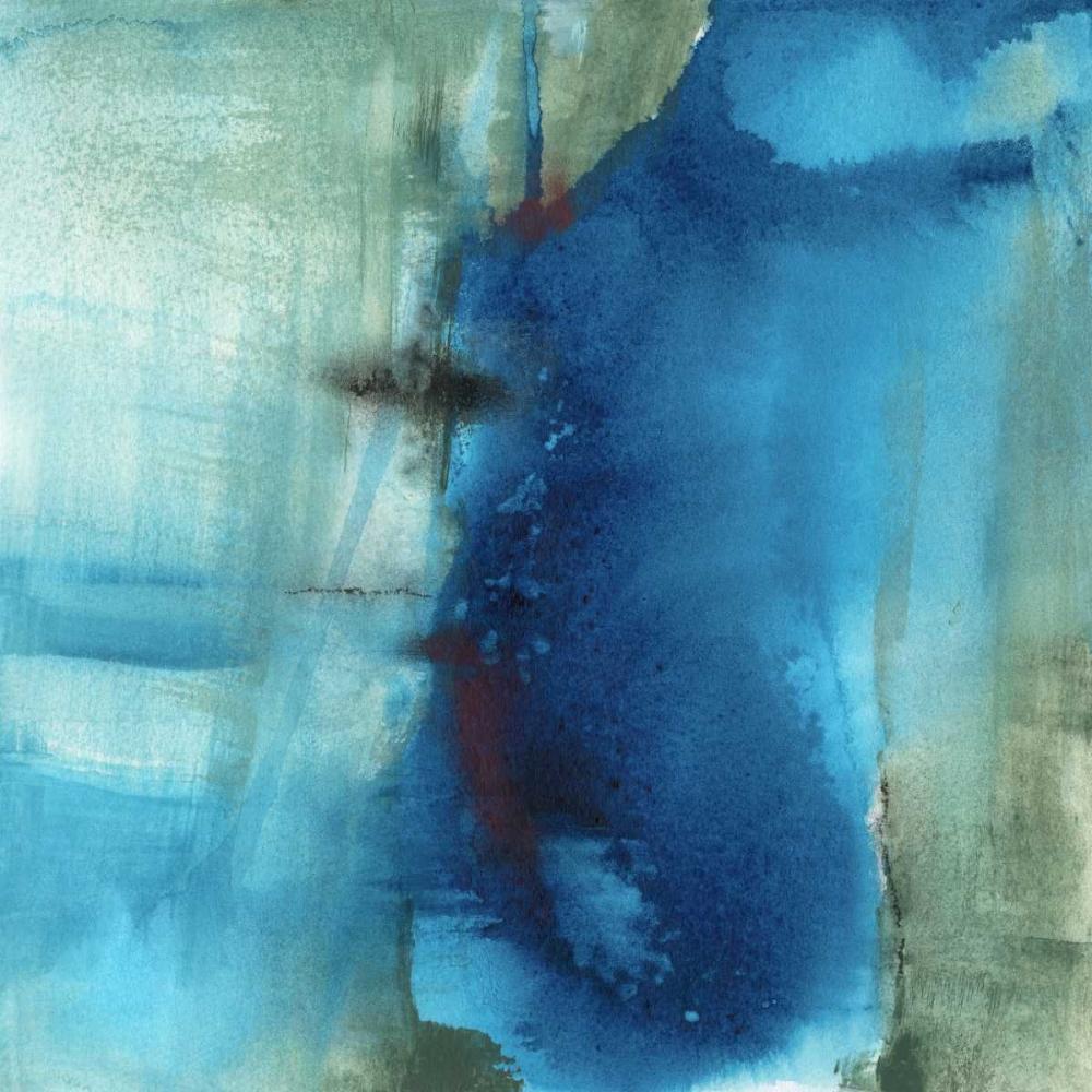 konfigurieren des Kunstdrucks in Wunschgröße Another World I von Oppenheimer, Michelle