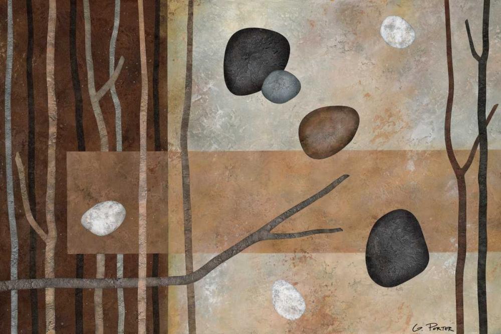 konfigurieren des Kunstdrucks in Wunschgröße Sticks and Stones IV von Porter, Glenys