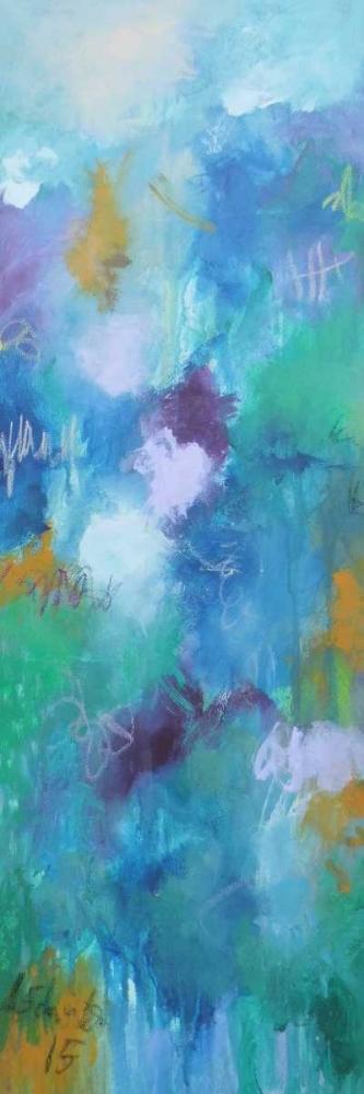 konfigurieren des Kunstdrucks in Wunschgröße Walking In Colors One von Schueler, Anna