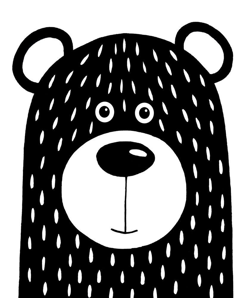 konfigurieren des Kunstdrucks in Wunschgröße Vanilla Bear von Stewart, Lucia