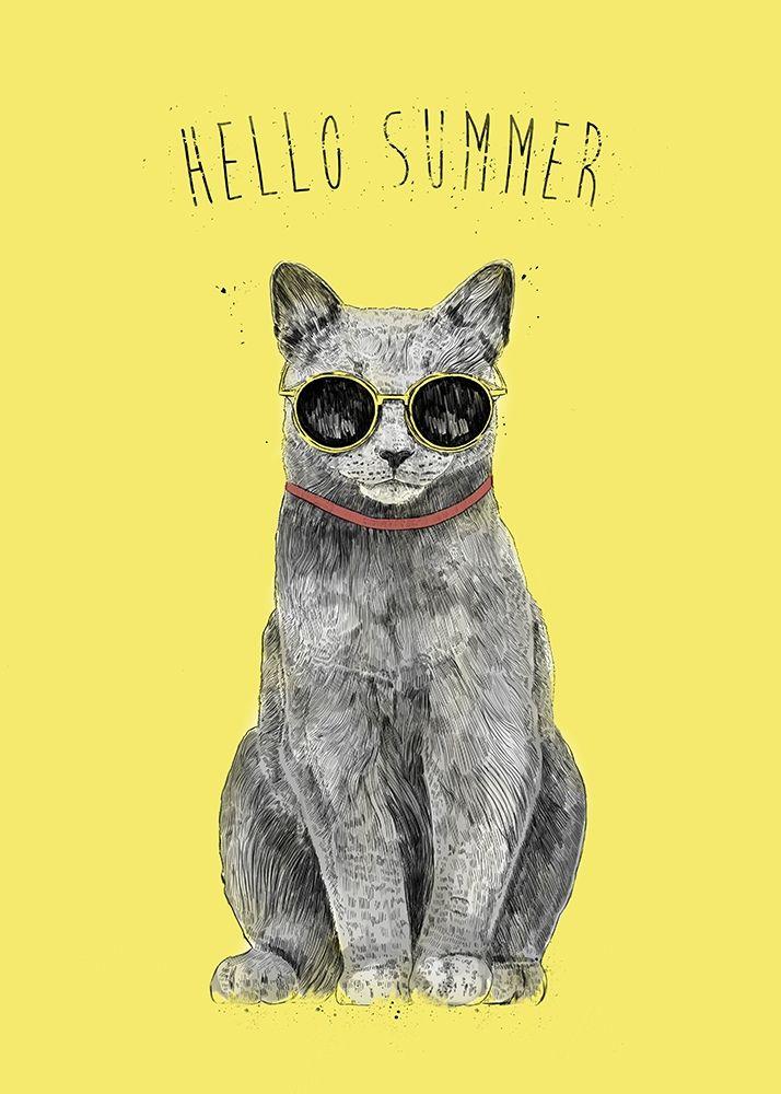 konfigurieren des Kunstdrucks in Wunschgröße Hello Summer von Solti, Balazs