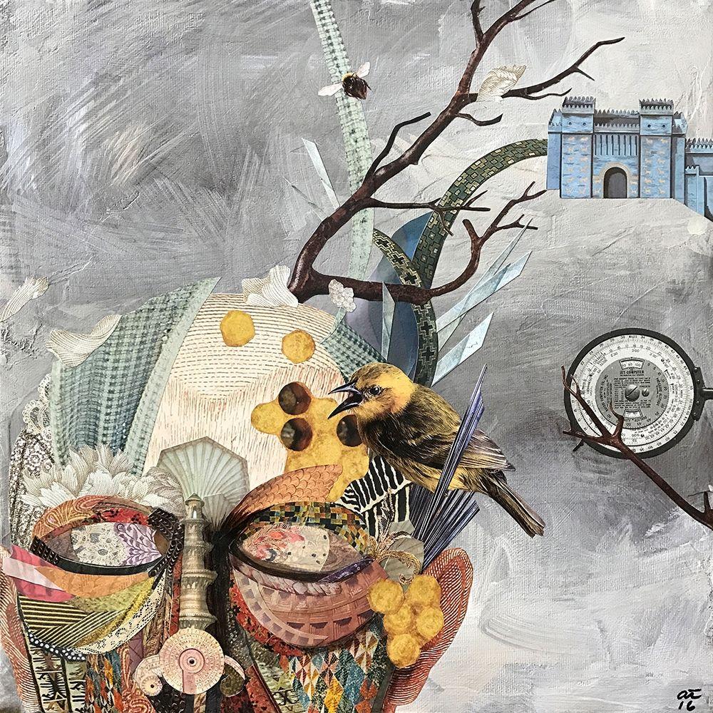 konfigurieren des Kunstdrucks in Wunschgröße Buzz Brain von Tannehill, Angela