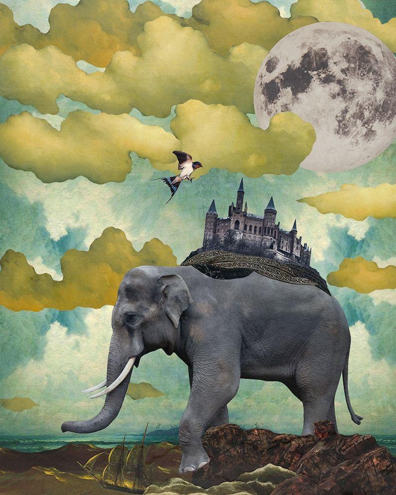 konfigurieren des Kunstdrucks in Wunschgröße Home Is Where... von Tannehill, Angela