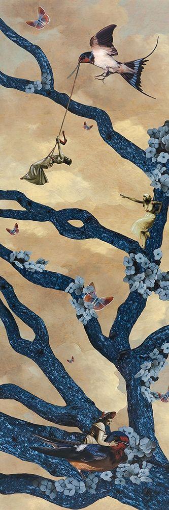 konfigurieren des Kunstdrucks in Wunschgröße Swing Time von Tannehill, Angela