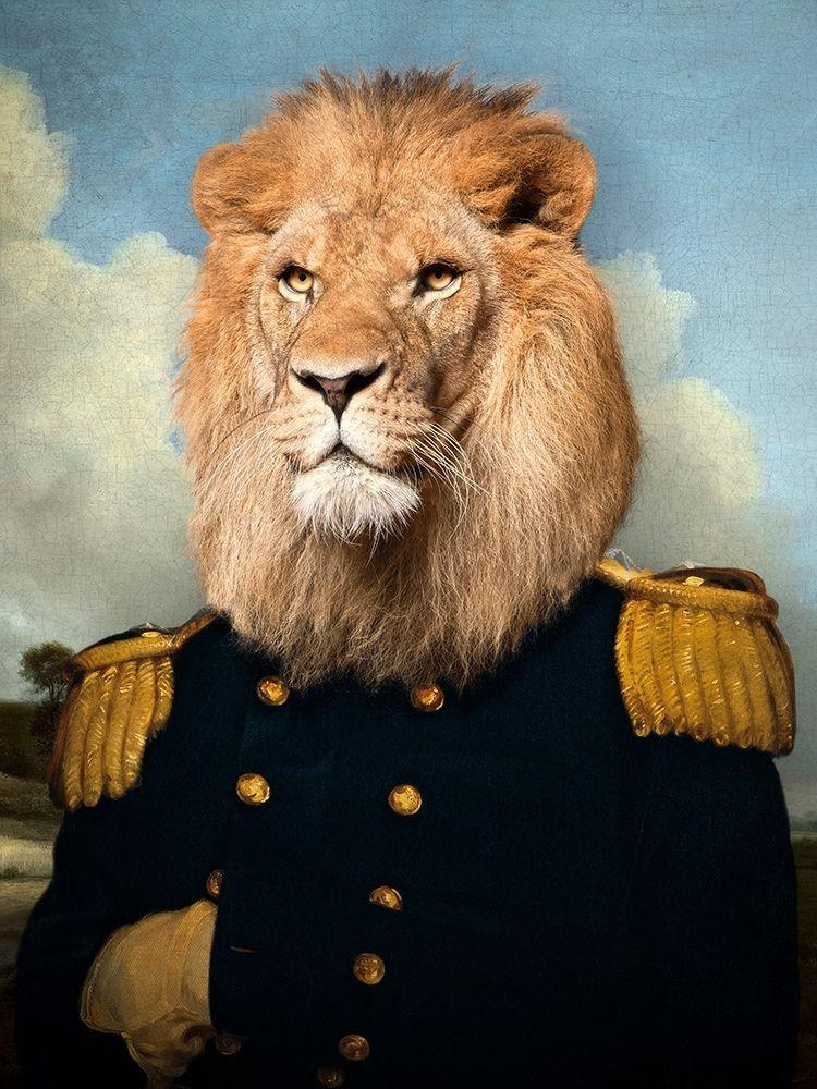 konfigurieren des Kunstdrucks in Wunschgröße Le Lion von Tyberghien, Philippe