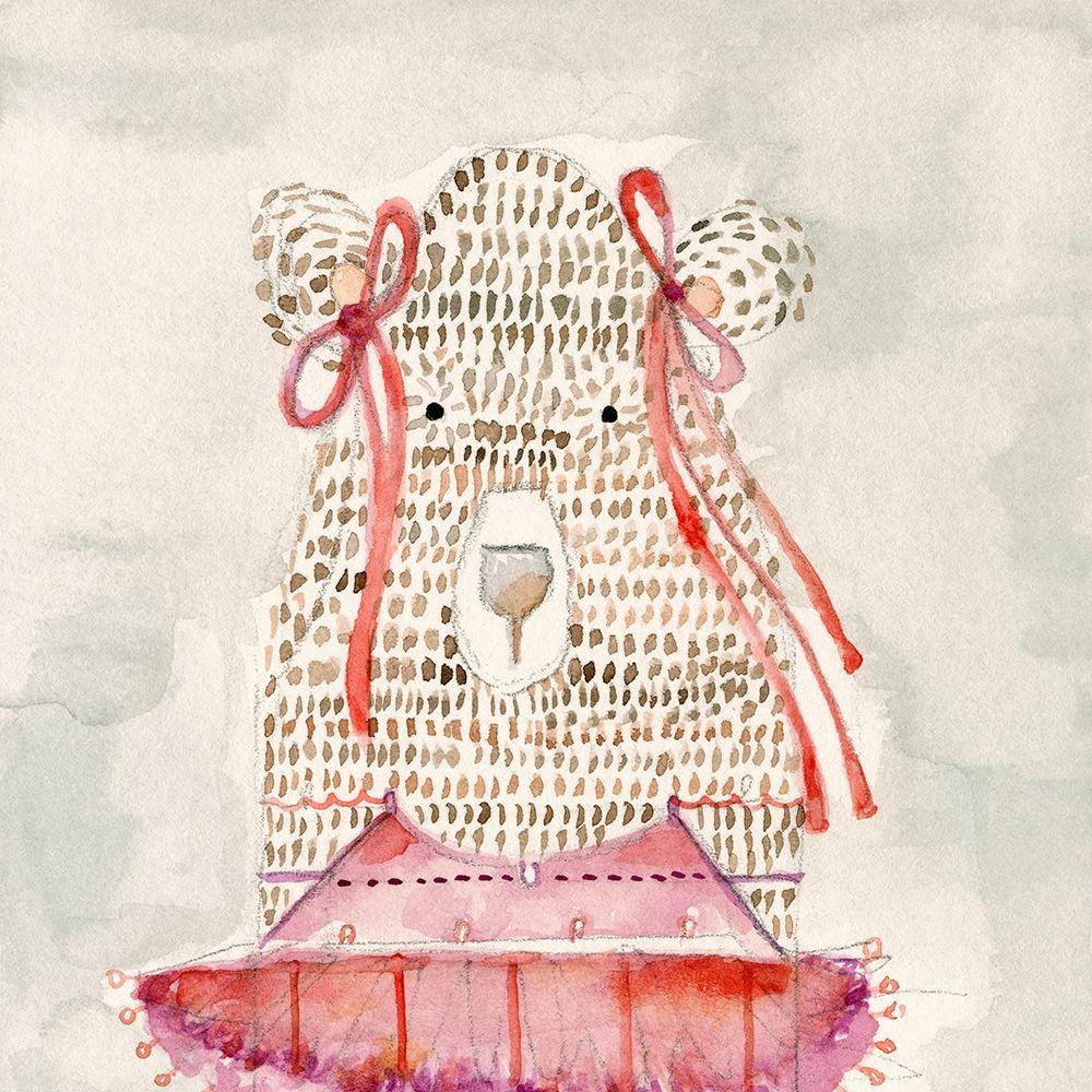 konfigurieren des Kunstdrucks in Wunschgröße Ballerina Bear von Timbrook, Natalie
