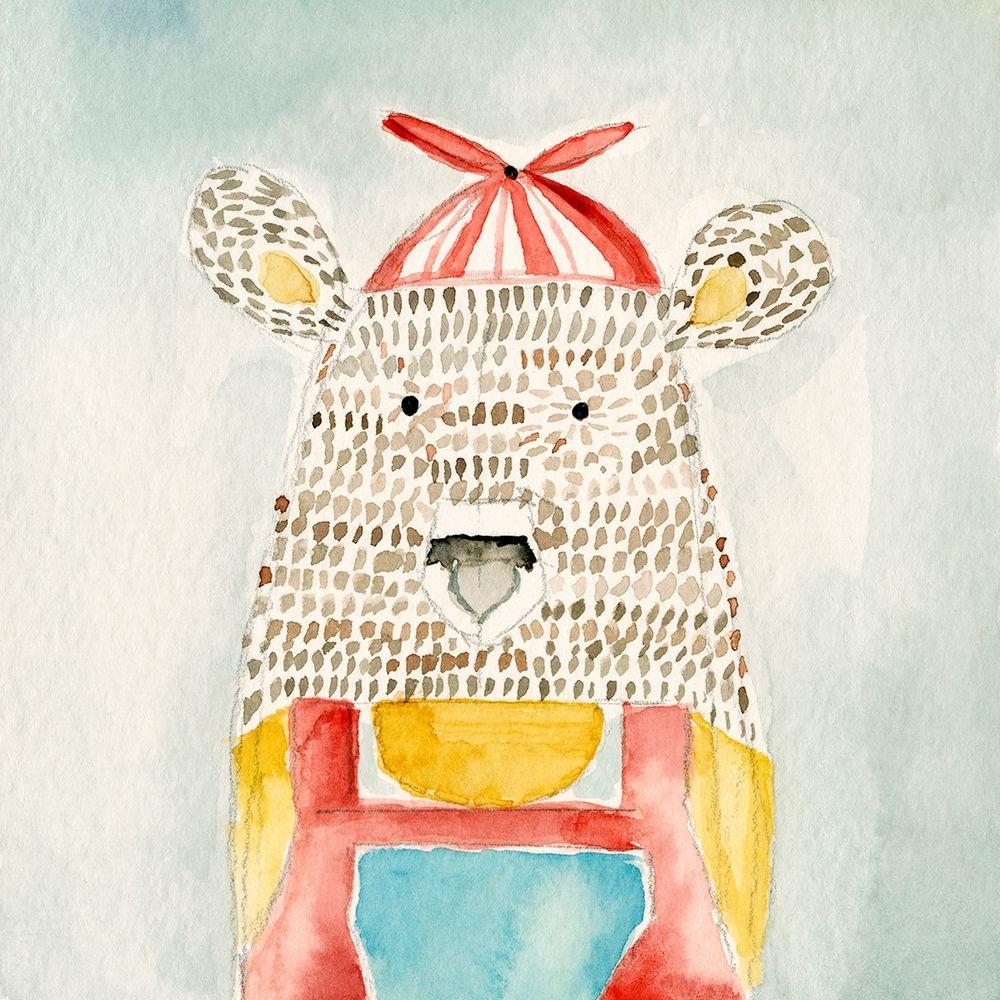 konfigurieren des Kunstdrucks in Wunschgröße Deanie Beanie Bear von Timbrook, Natalie