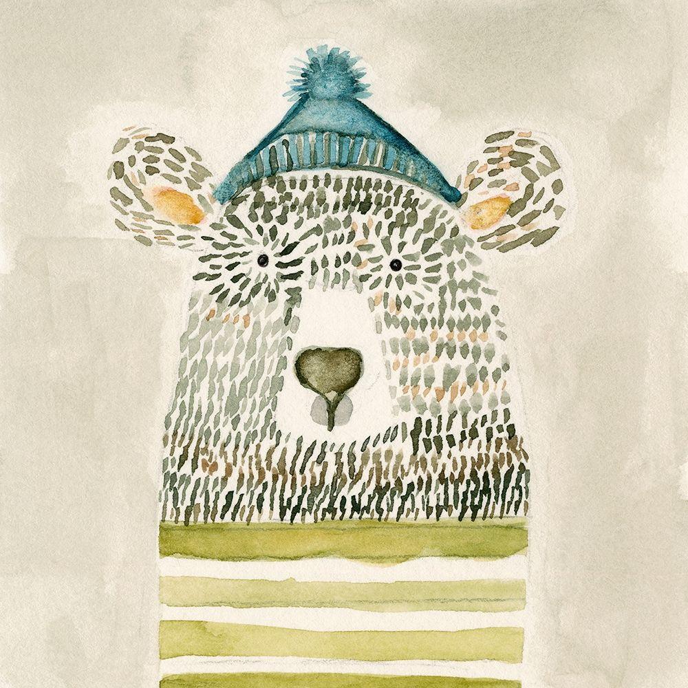 konfigurieren des Kunstdrucks in Wunschgröße Chester Bear von Timbrook, Natalie