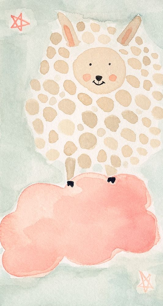 konfigurieren des Kunstdrucks in Wunschgröße Counting Sheep No. 1 von Timbrook, Natalie