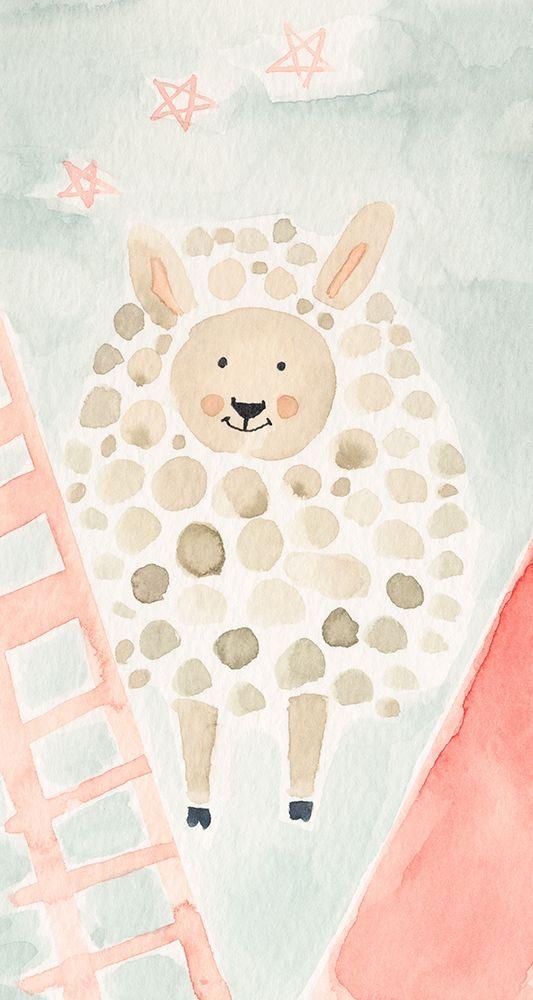 konfigurieren des Kunstdrucks in Wunschgröße Counting Sheep No. 2 von Timbrook, Natalie