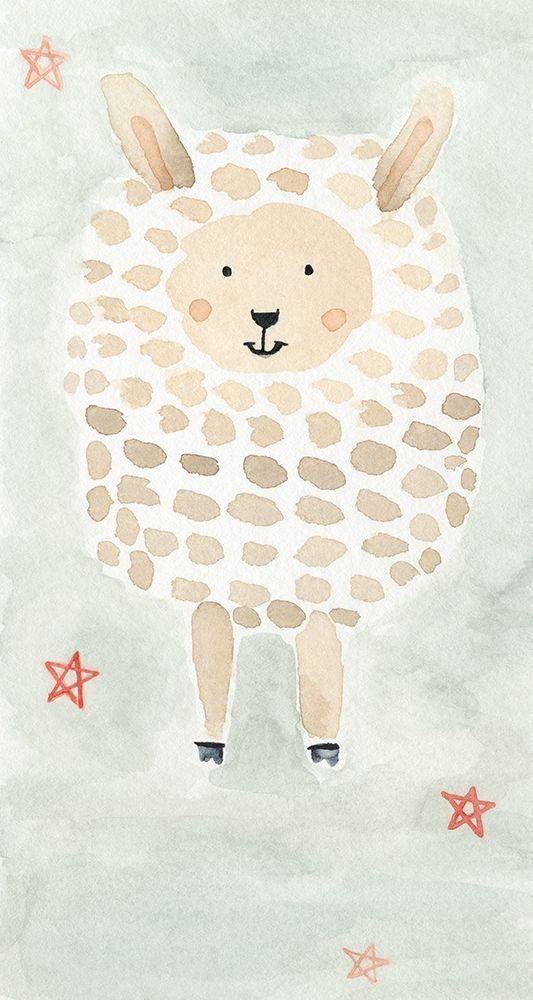 konfigurieren des Kunstdrucks in Wunschgröße Counting Sheep No. 3 von Timbrook, Natalie