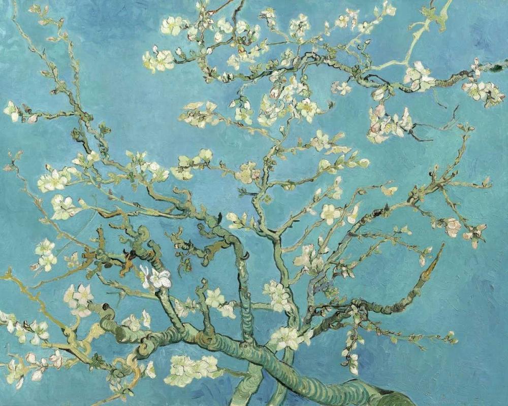 konfigurieren des Kunstdrucks in Wunschgröße Almond Blossoms 1890 von Van Gogh, Vincent