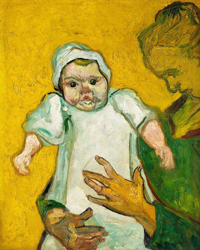 konfigurieren des Kunstdrucks in Wunschgröße Van Gogh, VincentMadame Roulin and Her Baby von Van Gogh, Vincent