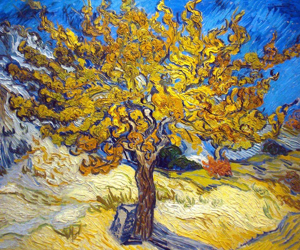 konfigurieren des Kunstdrucks in Wunschgröße The Mulberry Tree von Van Gogh, Vincent