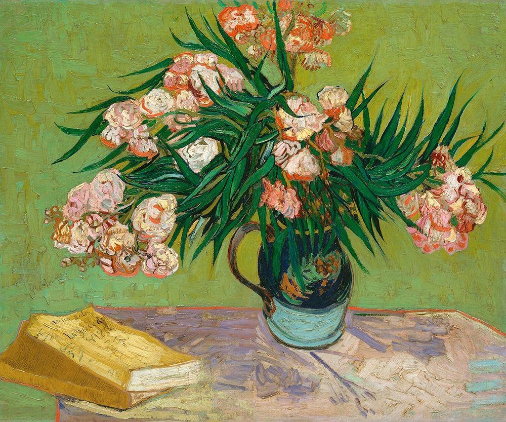 konfigurieren des Kunstdrucks in Wunschgröße Oleanders, 1888 von Van Gogh, Vincent
