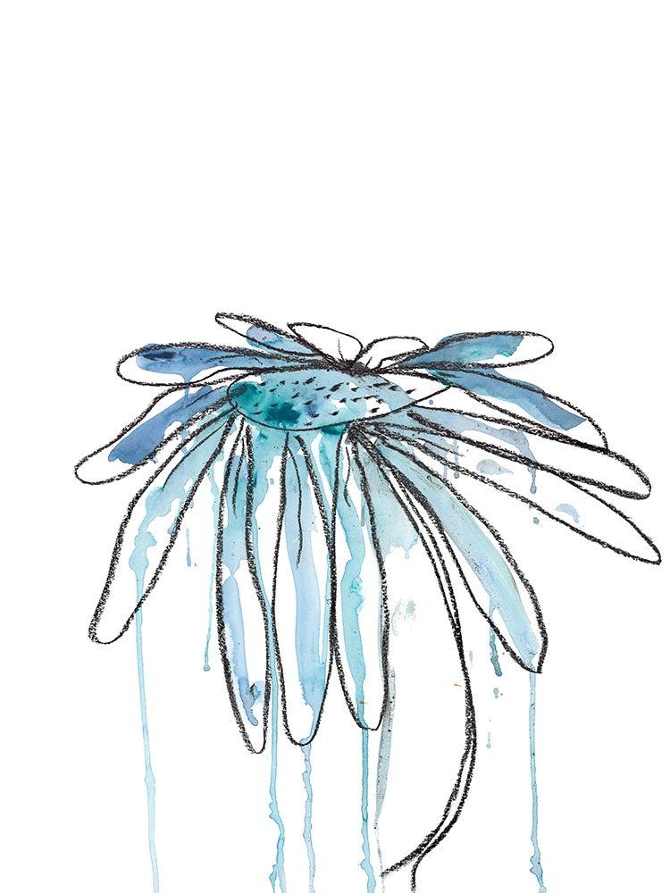 konfigurieren des Kunstdrucks in Wunschgröße Indigo Modern Botanical von Weiss, Jan