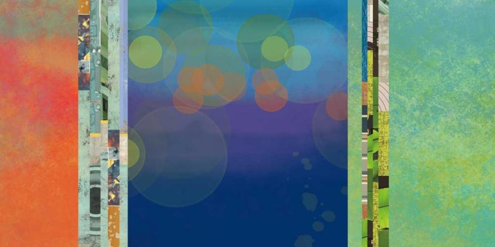 konfigurieren des Kunstdrucks in Wunschgröße Nighttime Two von Weiss, Jan
