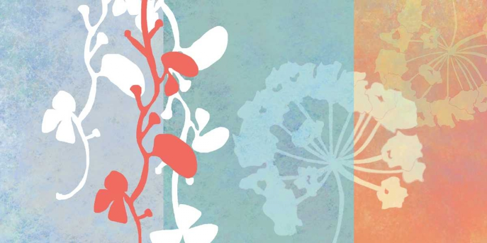 konfigurieren des Kunstdrucks in Wunschgröße Coral Flowers von Weiss, Jan