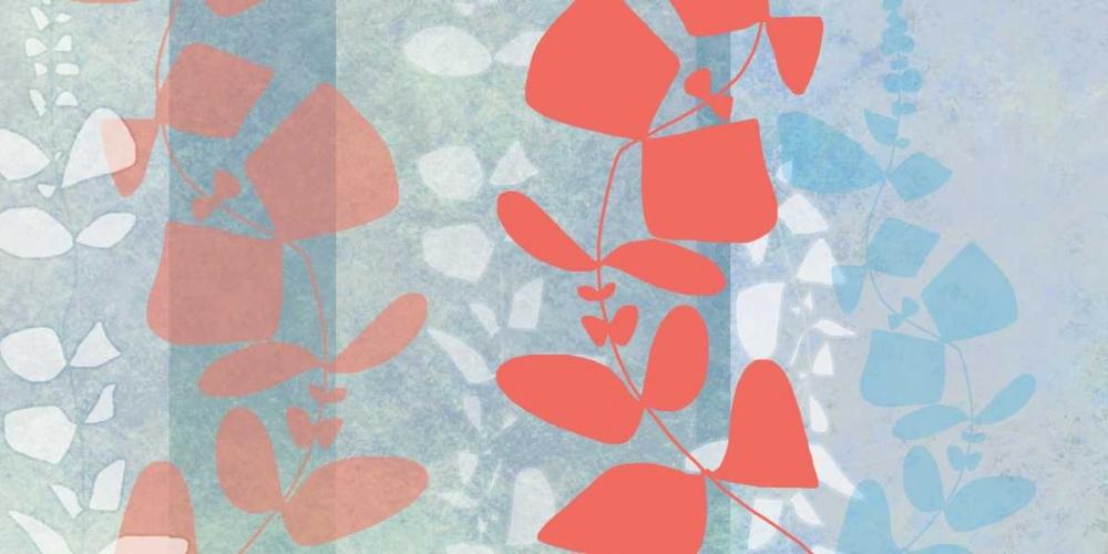 konfigurieren des Kunstdrucks in Wunschgröße Dimensional Leaves von Weiss, Jan