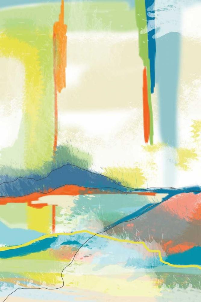 konfigurieren des Kunstdrucks in Wunschgröße Deconstructed Landscape 4 von Weiss, Jan