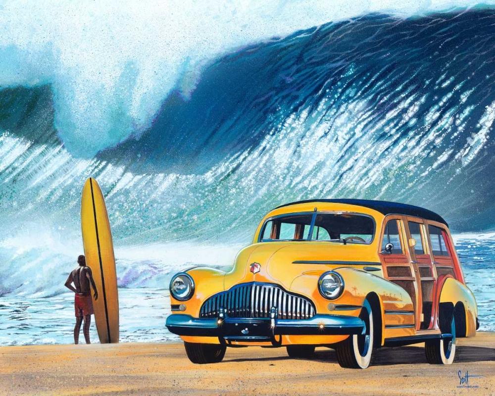 konfigurieren des Kunstdrucks in Wunschgröße Buttercup Buick von Westmoreland, Scott