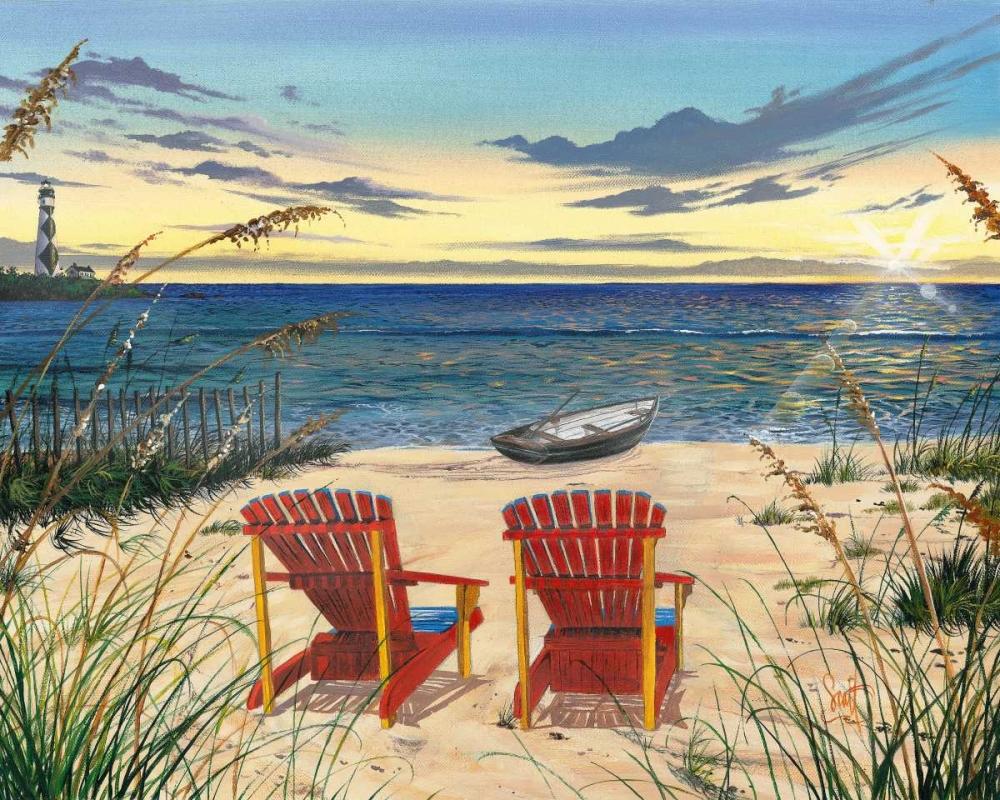 konfigurieren des Kunstdrucks in Wunschgröße Outer Banks Sunrise von Westmoreland, Scott