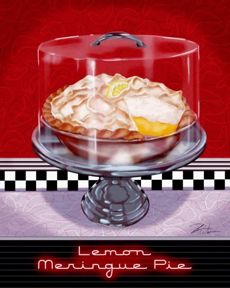 konfigurieren des Kunstdrucks in Wunschgröße Lemon Meringue Pie von Warren, Sheri