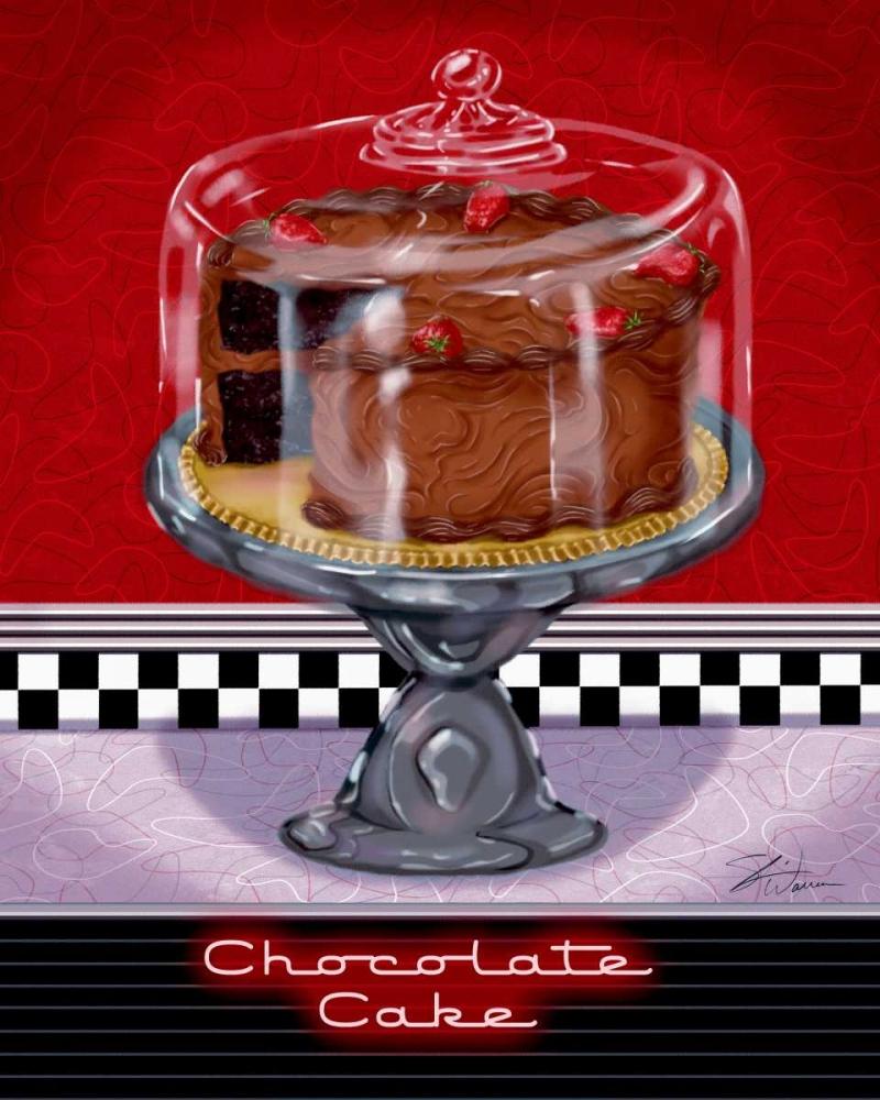 konfigurieren des Kunstdrucks in Wunschgröße Chocolate Cake von Warren, Sheri