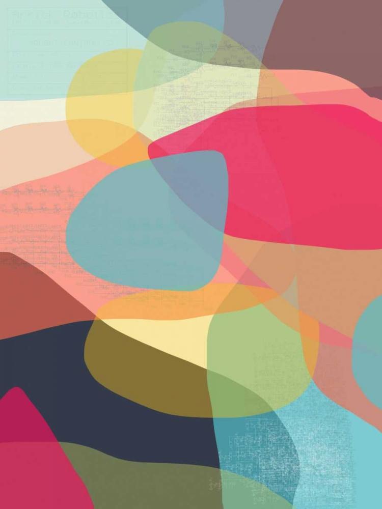 konfigurieren des Kunstdrucks in Wunschgröße Layered Earth One von Weiss, Jan