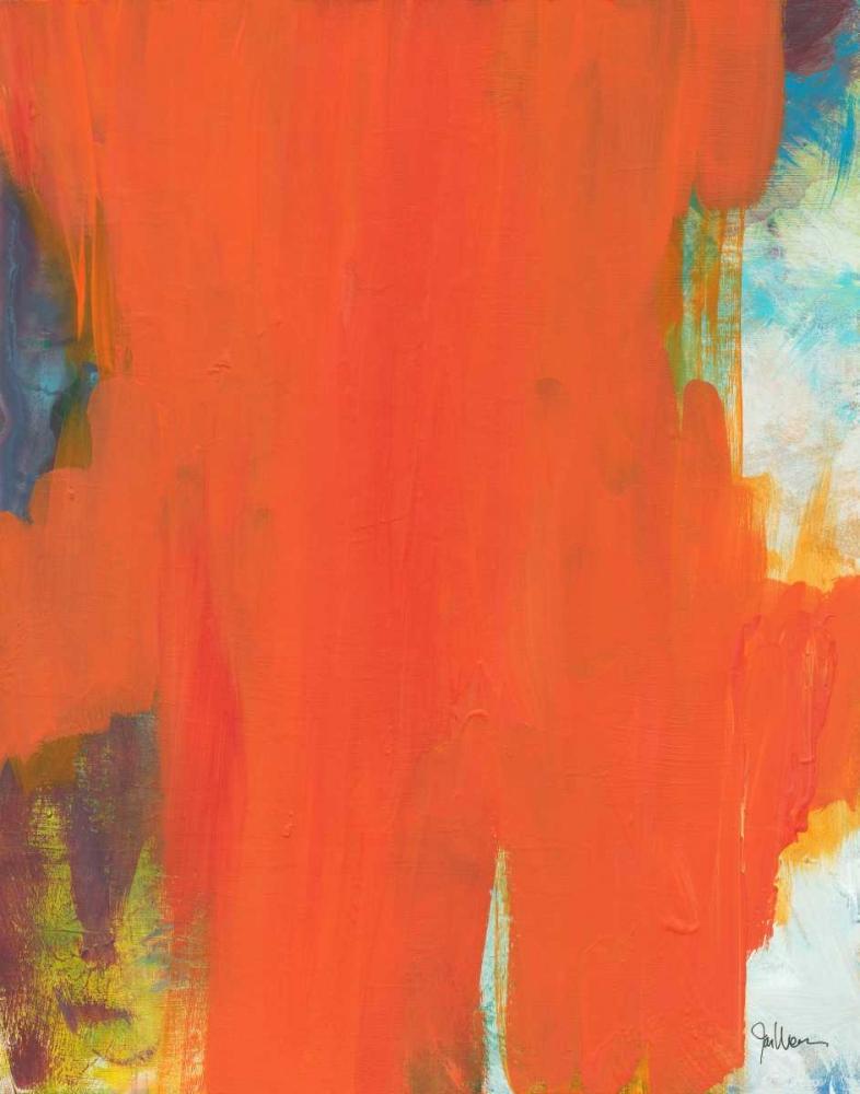konfigurieren des Kunstdrucks in Wunschgröße Orange Tide von Weiss, Jan