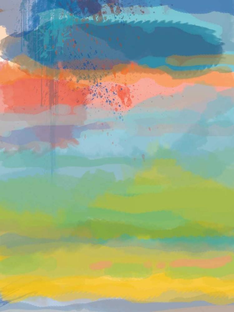 konfigurieren des Kunstdrucks in Wunschgröße Coral Sky von Weiss, Jan