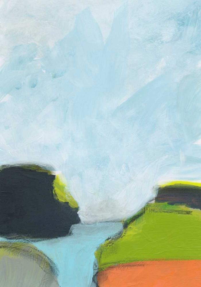 konfigurieren des Kunstdrucks in Wunschgröße Landscape No. 87 von Weiss, Jan