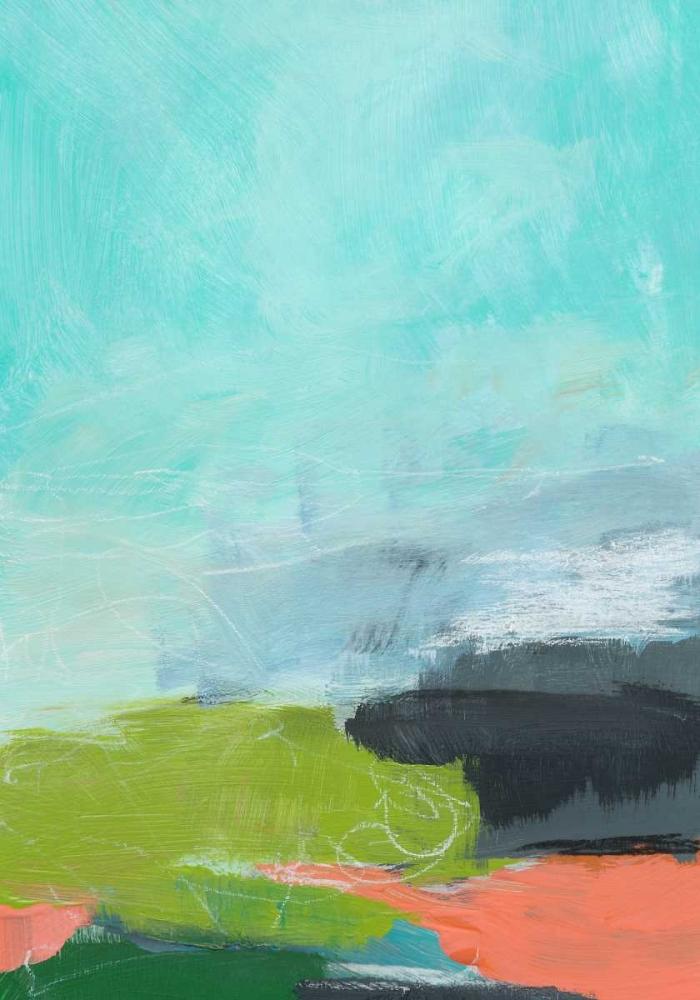 konfigurieren des Kunstdrucks in Wunschgröße Landscape No. 95 von Weiss, Jan