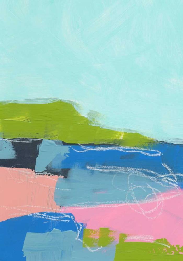 konfigurieren des Kunstdrucks in Wunschgröße Landscape No. 96 von Weiss, Jan
