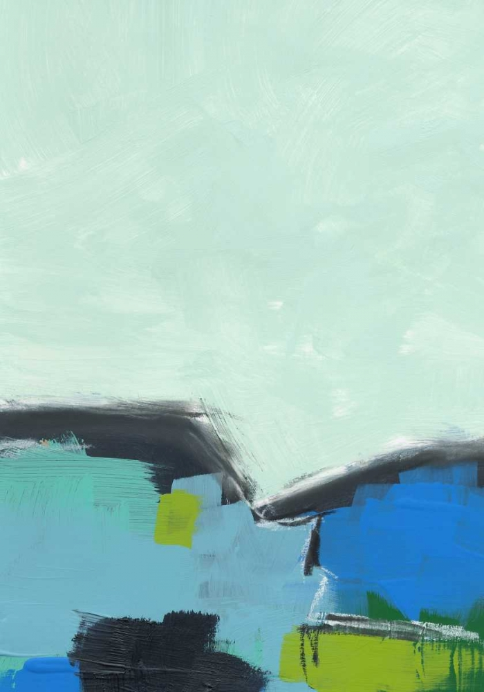 konfigurieren des Kunstdrucks in Wunschgröße Landscape No. 98 von Weiss, Jan