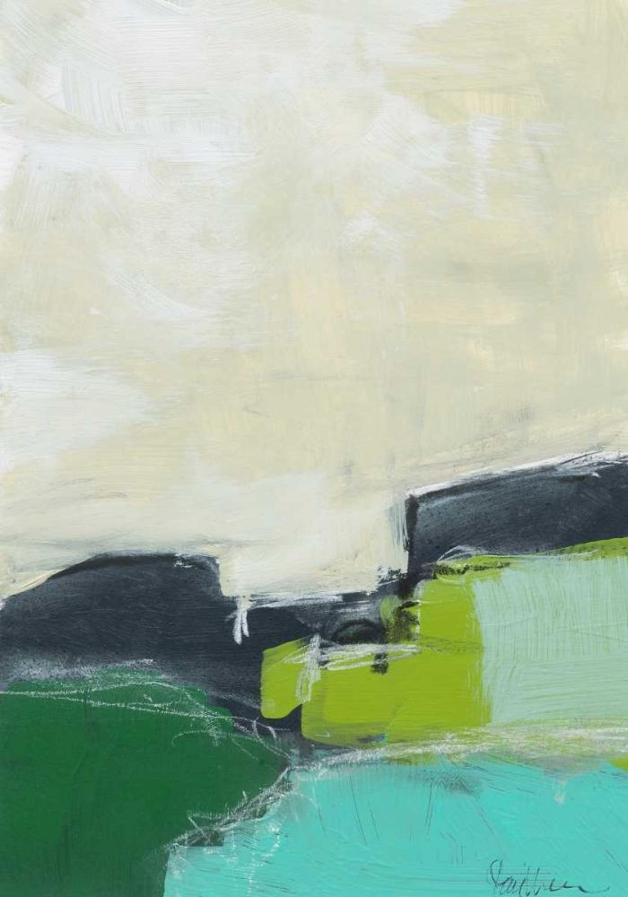 konfigurieren des Kunstdrucks in Wunschgröße Landscape No. 99 von Weiss, Jan