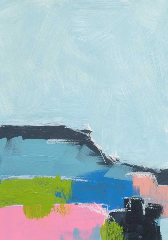 konfigurieren des Kunstdrucks in Wunschgröße Landscape No. 100 von Weiss, Jan