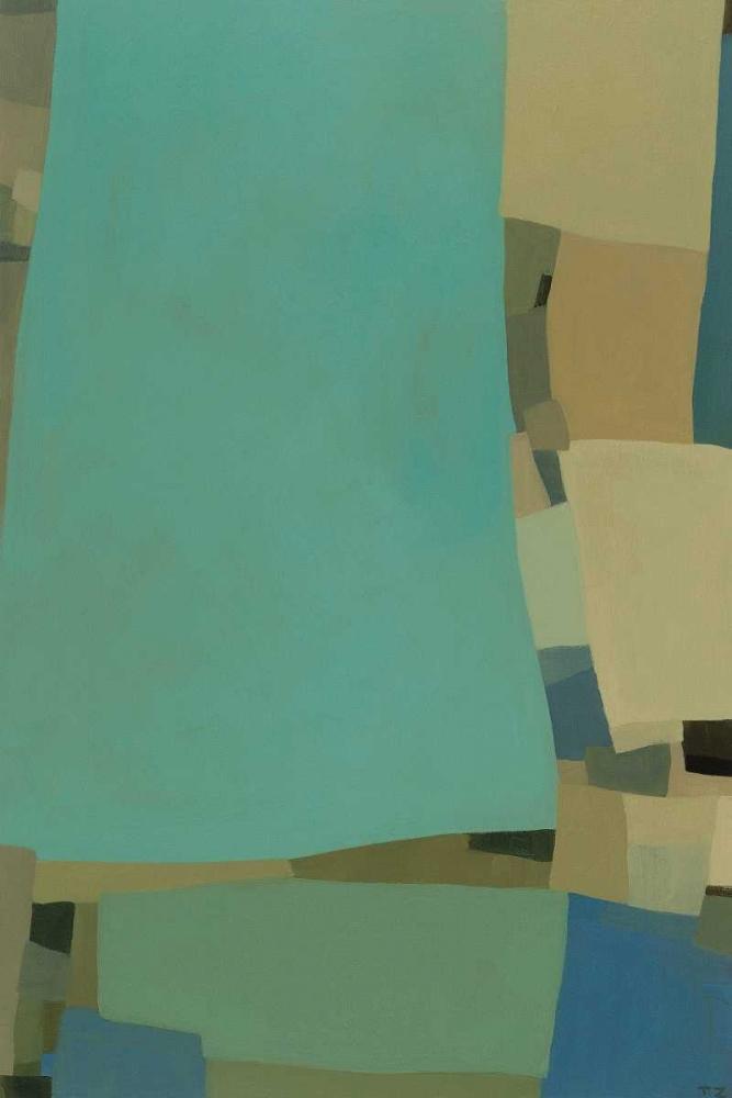 konfigurieren des Kunstdrucks in Wunschgröße Arabesque 7 von Zinn, Tamar