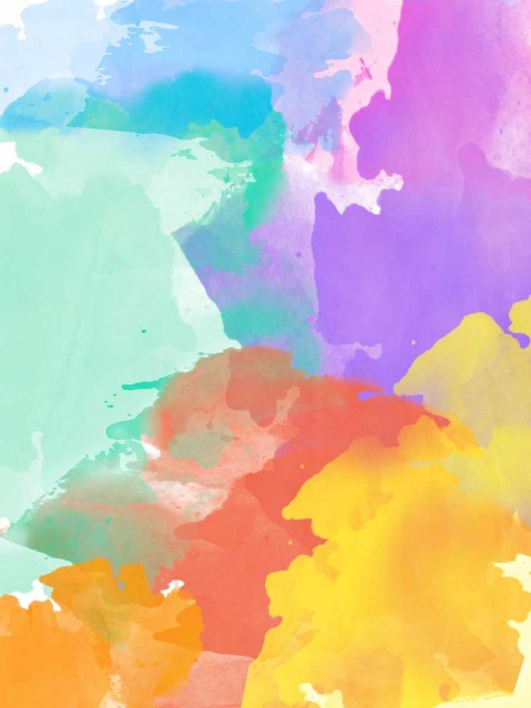 konfigurieren des Kunstdrucks in Wunschgröße Watercolor Mess I von SD Graphics Studio